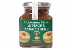 Confettura extra di Pesche Tabacchiere- La Fattoria di Priscilla