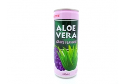 Lotte Aloe Vera al gusto di UVA (Grape Flavour) 240 ml